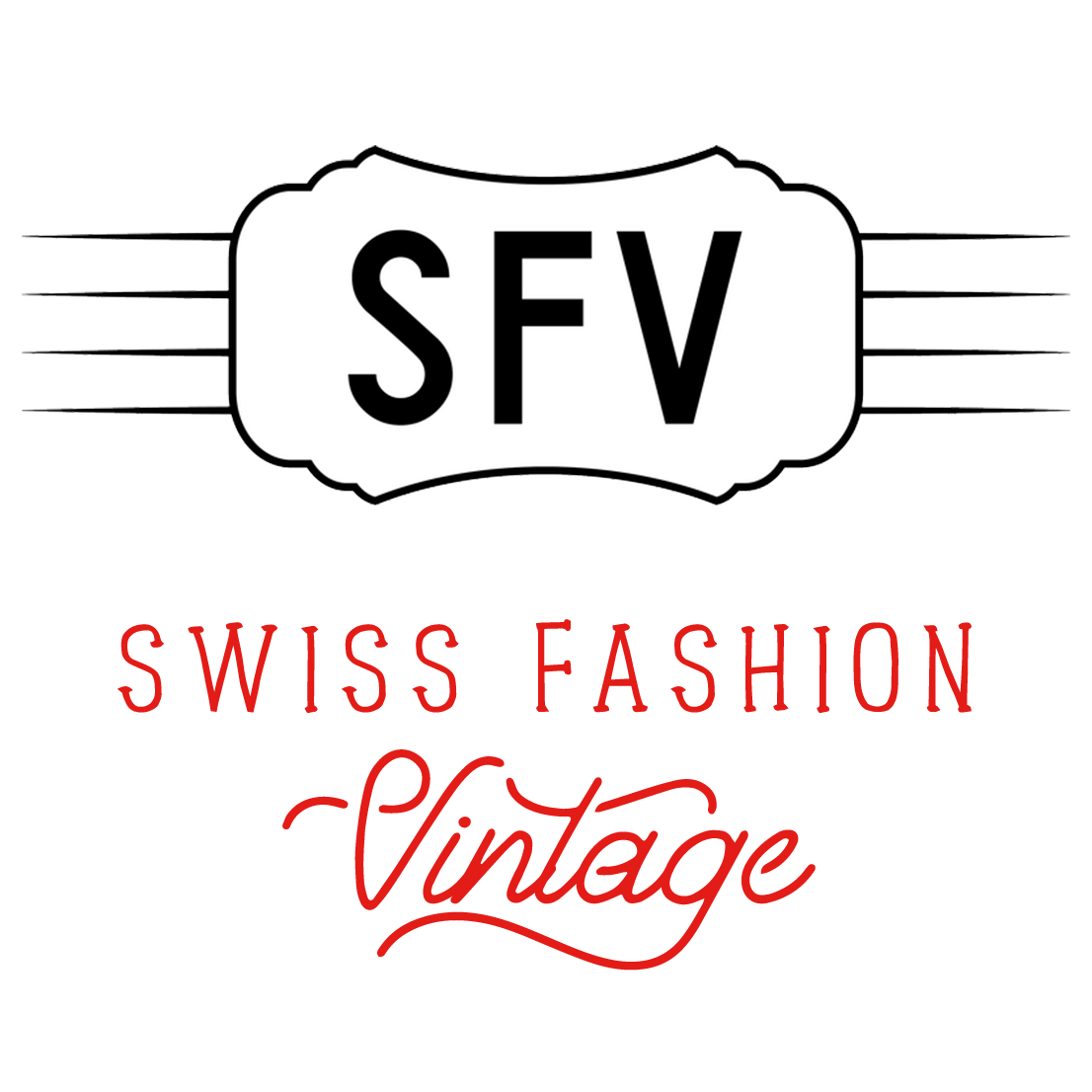 Swiss Vintage Fashion Logo