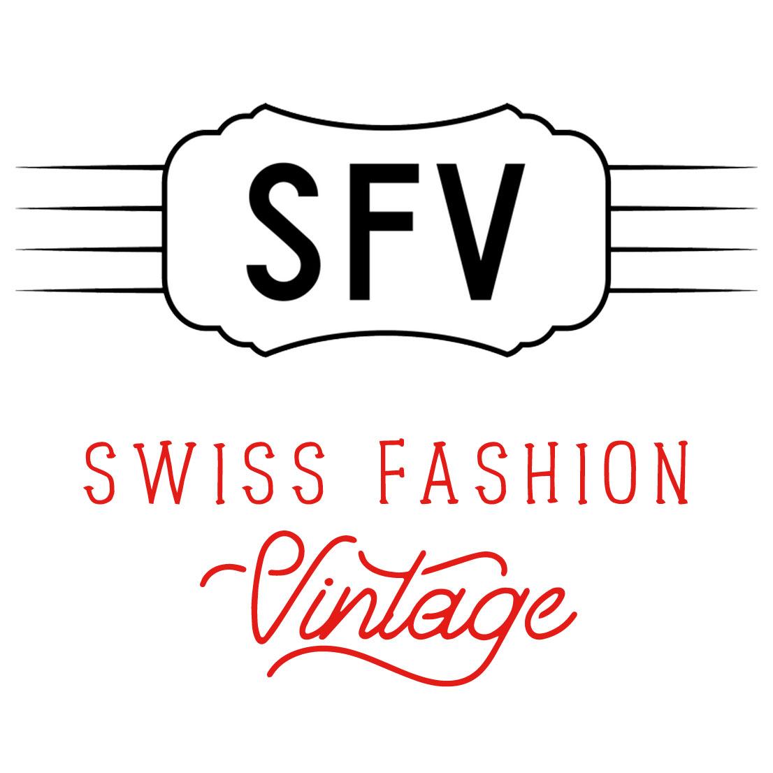 Swiss Vintage Fashion Logo